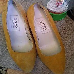 Suede Shoe TAN